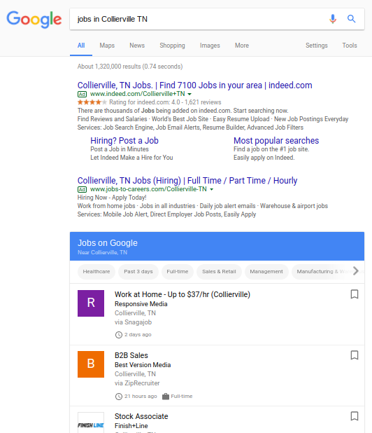 How To Post On Google For Jobs Local Seo Drop The Strap Blog